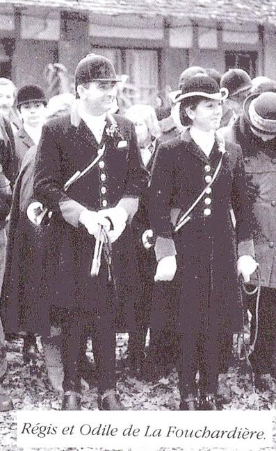 Equipage de Saint Laurent - Tiré de l'ouvrage Deux Siècles de Vènerie à travers la France - H. Tremblot de la Croix et B. Tollu (1988)
