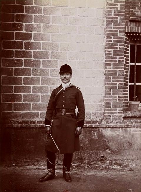 Robert de Belleville - Tiré de l'ouvrage L'Equipage du marquis de Chambray - Photos de Maurice de Gasté (1894) - Bnf (Gallica)