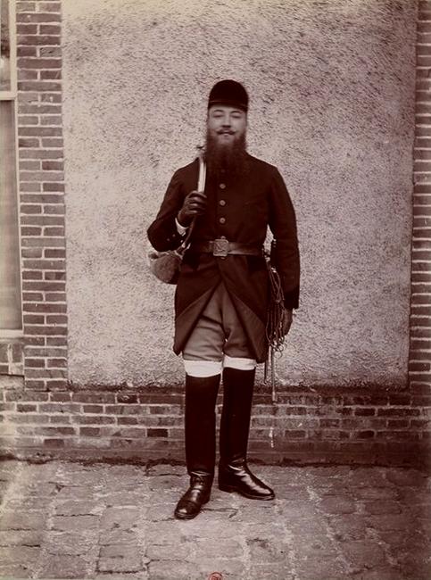 Roger Laurent (4) - Tiré de l'ouvrage L'Equipage du marquis de Chambray - Photos de Maurice de Gasté (1894) - Bnf (Gallica)
