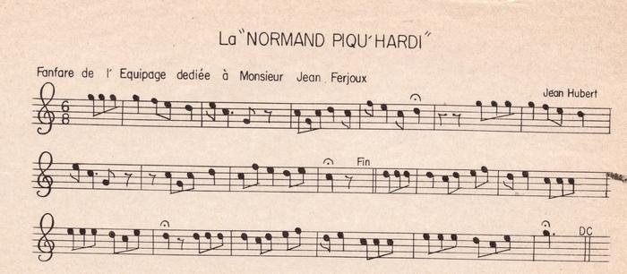 La Normand Piqu'Hardi ♫
