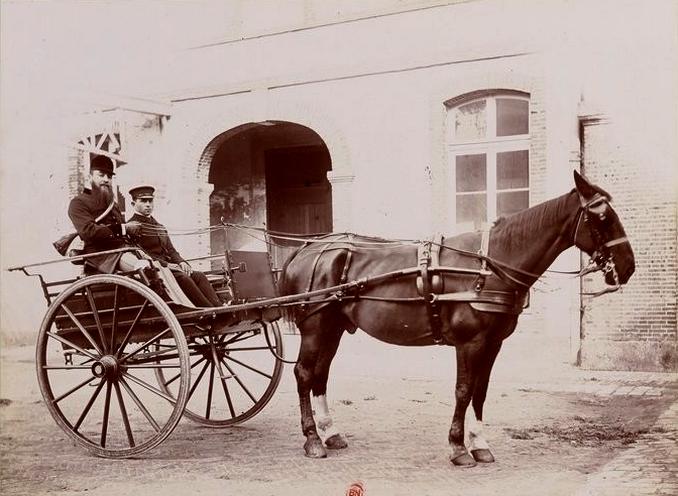 Roger Laurent (3) - Tiré de l'ouvrage L'Equipage du marquis de Chambray - Photos de Maurice de Gasté (1894) - Bnf (Gallica)
