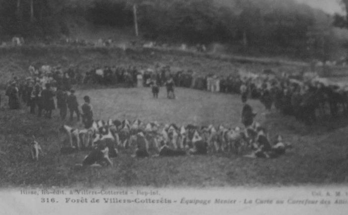 L'Equipage Menier - Collection A.-P. Baudesson - Don à la Société de Vènerie - 425