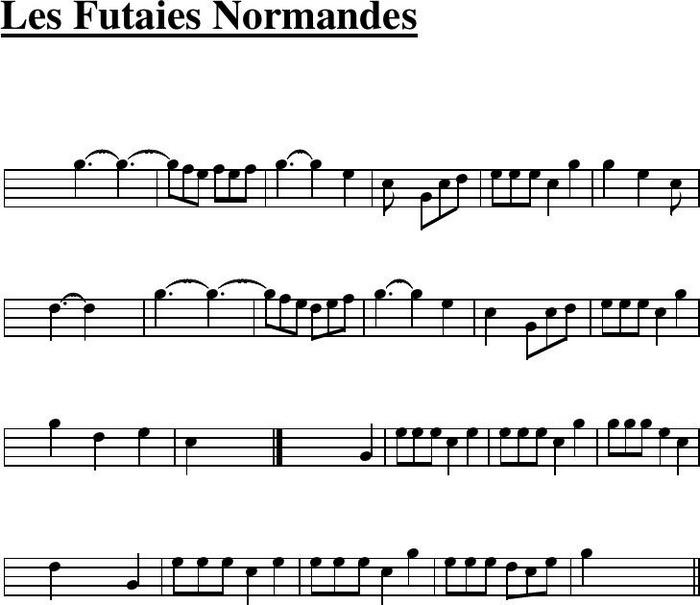 Les Futaies normandes ♫