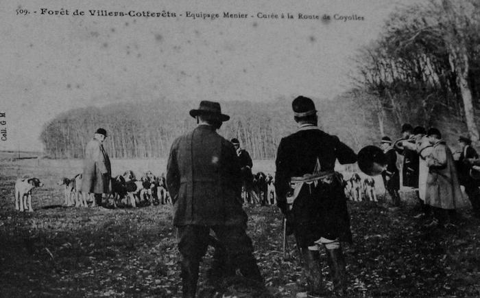 L'Equipage Menier - Collection A.-P. Baudesson - Don à la Société de Vènerie - 508