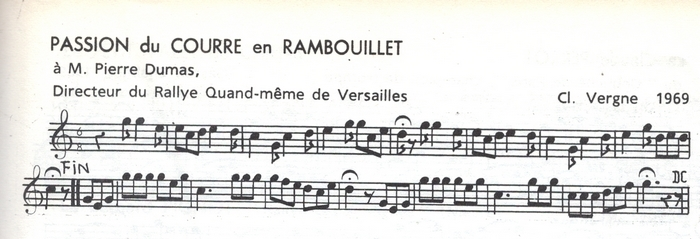 Passion du courre en Rambouillet
