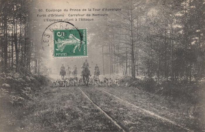 Equipage du prince de la Tour d'Auvergne